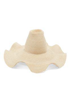 Rosie Assoulin | Waved-Brim Hemp-Straw Hat
