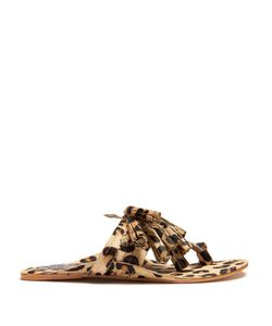 Figue | Scaramouche Calf-Hair Tassel Sandals