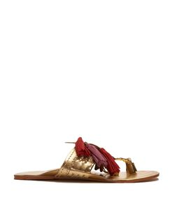 Figue | Scaramouche Suede Tassel Sandals