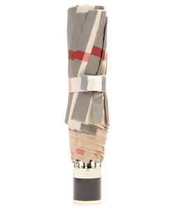 Burberry | Trafalgar Check-Print Folding Umbrella