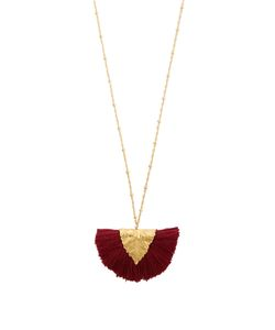 ELISE TSIKIS | Los Craie Tassel-Pendant Plated Necklace
