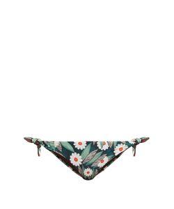 Mara Hoffman   Daisy-Print Tie-Side Bikini Briefs