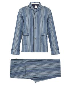 Paul Smith | Striped Cotton Pyjama Set