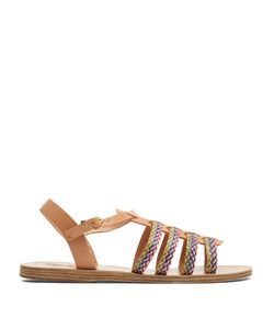 Ancient Greek Sandals | Korinna Colou Leather Sandals