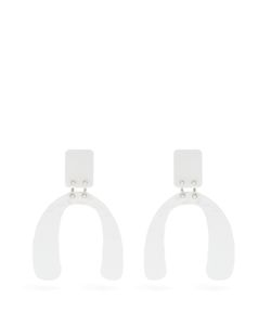 Proenza Schouler | Abstract-Shaped Hammered Earrings