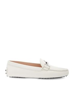 Tod's | Gommini T-Bar Nubuck Leather Loafers