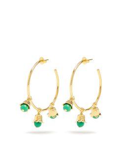 Aurelie Bidermann | Lily Of The Valleyplated Hoop Earrings