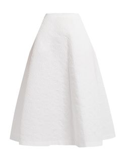 Emilia Wickstead | Structu Jacquard Midi Skirt