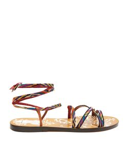 Valentino | Santeria Native Couture Leather Sandals