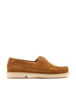 A.P.C. | Basile Suede Deck Shoes