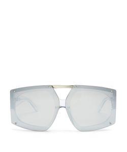 Karen Walker Eyewear | Salvador Shield-Frame Sunglasses