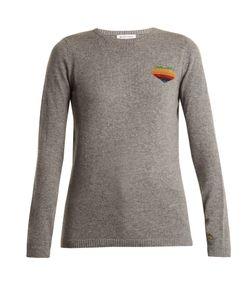 Bella Freud   Disco Heart Cashmere-Blend Sweater