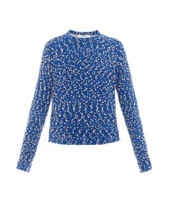 Julien David | Contrast Cotton-Back Sweater