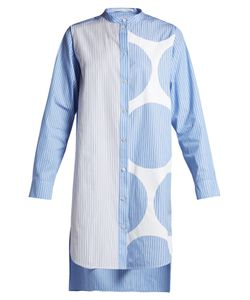 Stella McCartney | Contrasting-Print Shirtdress
