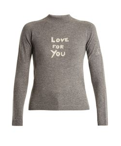 Bella Freud   Love For You Cashmere-Blend Sweater