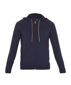 Paul Smith | Zip-Through Cotton Hooded Sweatshirt