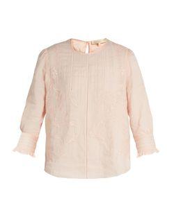 Vanessa Bruno | Gwenael Linen And Cotton-Blend Blouse