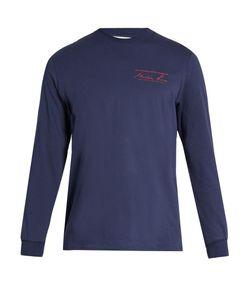 Martine Rose | Logo-Print Cotton-Jersey Long-Sleeved T-Shirt