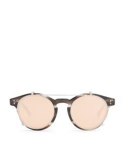 Linda Farrow | Clip-On Lens Round-Frame Glasses