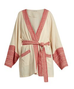 Mes Demoiselles | Gwen Embroidered-Trim Cotton Jacket
