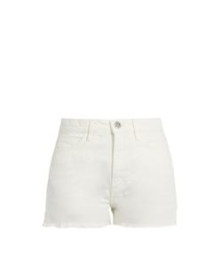 M.i.h Jeans | Caron Raw-Hem High-Rise Denim Shorts