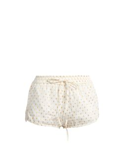 Mes Demoiselles | Dylan Fil Coupé Cotton-Blend Shorts