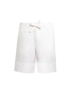 HECHO | Drawstring-Waist Linen Shorts