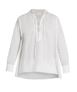 Nili Lotan | Shiloh Cotton-Poplin Shirt