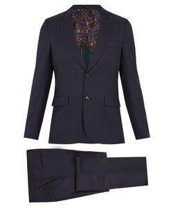 Paul Smith | Single-Breasted Birdseye-Wool Suit