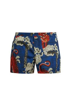 Gucci | Tiger-Print Swim Shorts