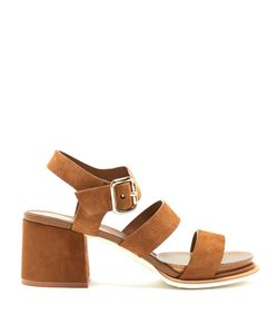 Tod's | Suede Block-Heel Sandals