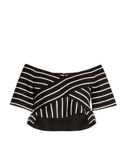 Proenza Schouler | Striped Cotton-Blend Cropped Top