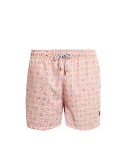 Retromarine | Vintage-Print Swim Shorts
