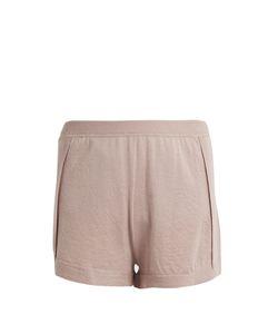 Le Kasha | Bombay Mid-Rise Cashmere Shorts
