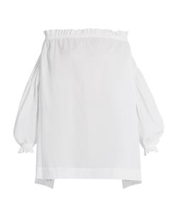 Vivienne Westwood Anglomania | Lete Chemise Off-The-Shoulder Cotton Top