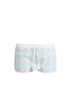 Melissa Odabash | Carolina Embroidered Shorts
