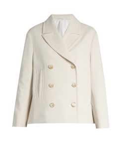 Brunello Cucinelli | Double-Breasted Jersey Jacket