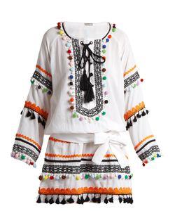 Dodo Bar Or | Yehoray Pompom-Embellished Mini Dress