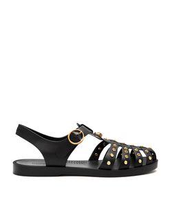 Gucci | Stud-Embellished Rubber Sandals