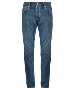 Burberry | Tape-Leg Cotton-Blend Denim Jeans