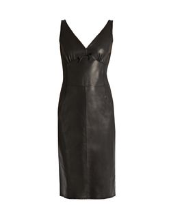 Loewe | Leather Slip Dress