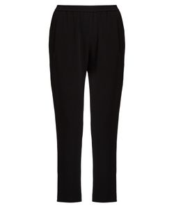 Stella McCartney | Tamara Stretch-Cady Cropped Trousers