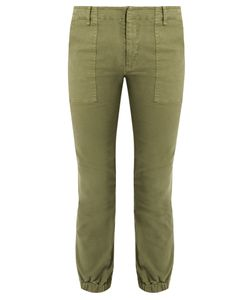 Nili Lotan | Stretch-Cotton Military Trousers