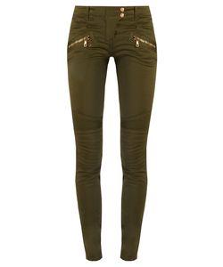 Balmain | Skinny-Leg Biker Jeans