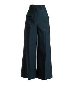 Roksanda | Hasani High-Rise Wide-Leg Trousers
