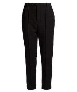 Isabel Marant | Jo High-Rise Slim-Leg Wool-Twill Trousers