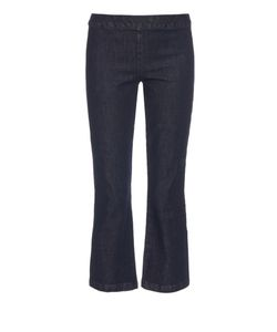 The Row | Seeton High-Rise Kick-Flare Cropped Jeans