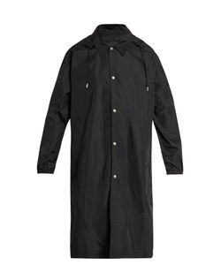 AMI | Point-Collar Shell Trench Coat