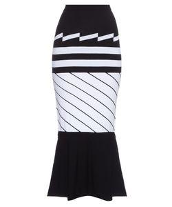 Preen by Thornton Bregazzi | Nev Intarsia-Knit Midi Skirt
