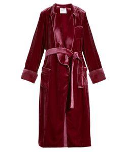 Racil | Backstage Tie-Waist Velvet Jacket